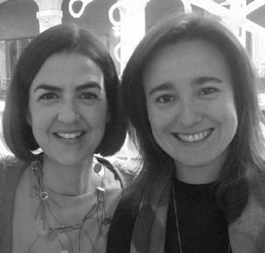 Foto Silvia Brito y Ana Prados